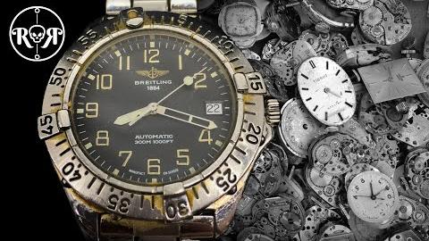 手表维修翻新-百年灵Colt A17035