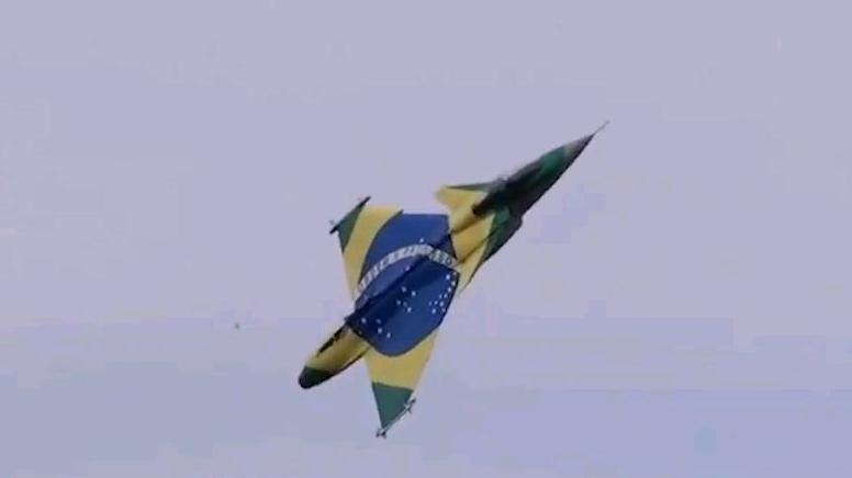 超大涡喷航模炸机瞬间