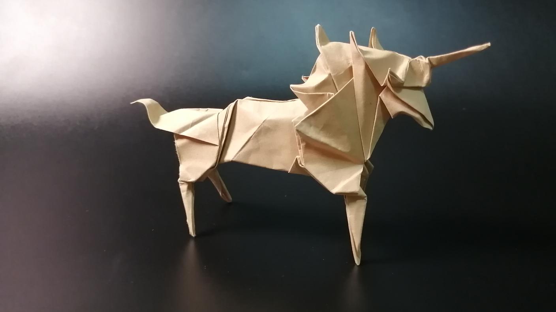 【折纸–教程】独角兽