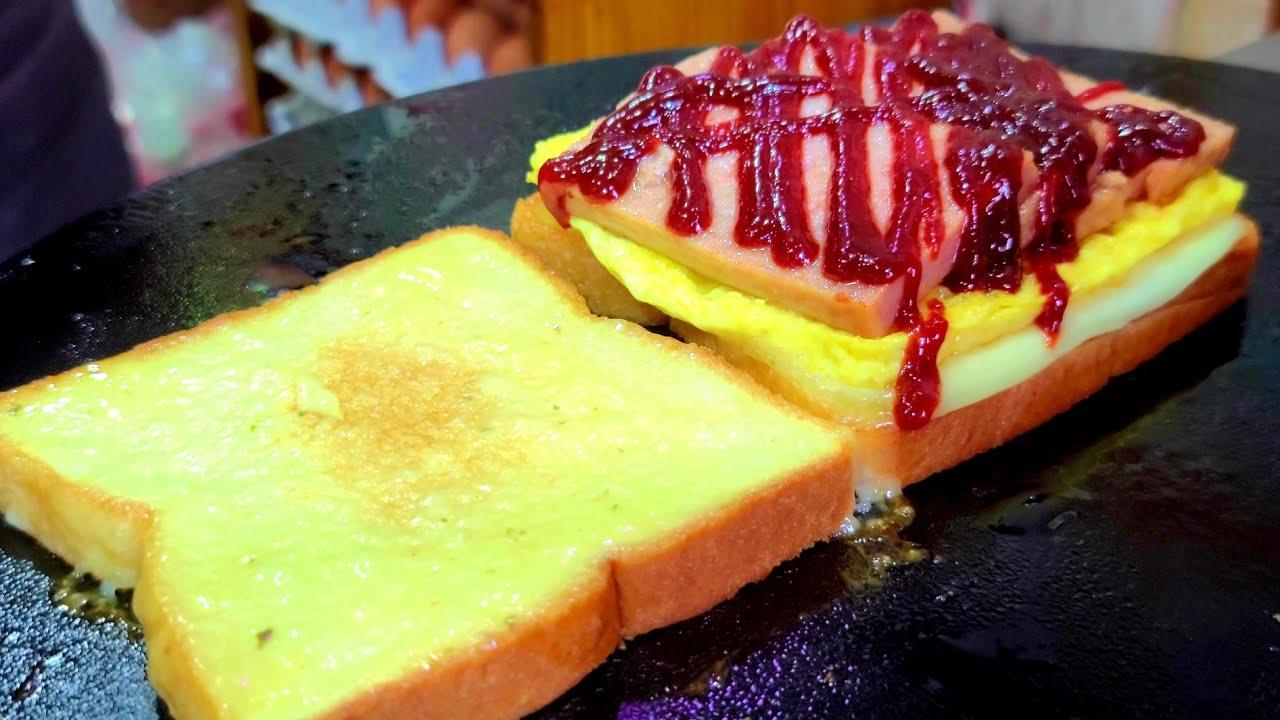 芝士奶酪吐司-韩国街边小吃