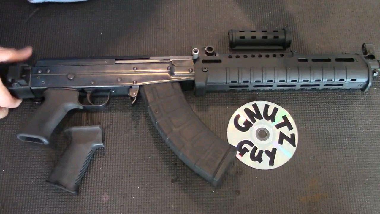 [老枪新装] 八一杠 加装 马盖普战术配件