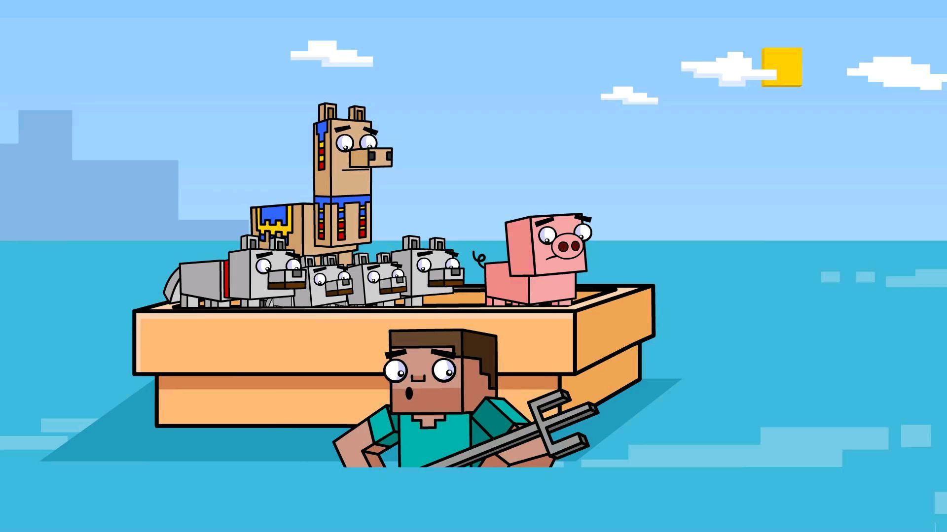 《我的世界》生存模式 探险小队动画