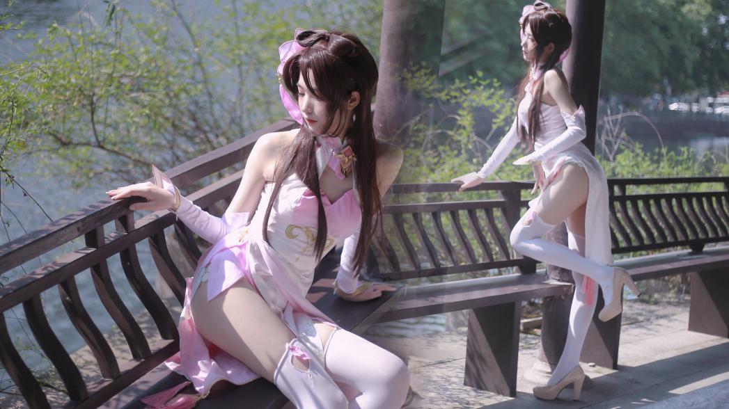 【宫本绘】桃花旗袍♡竖屏