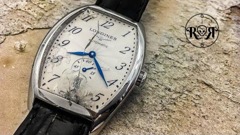 维修翻新一块浪琴【Evidenza系列】手表