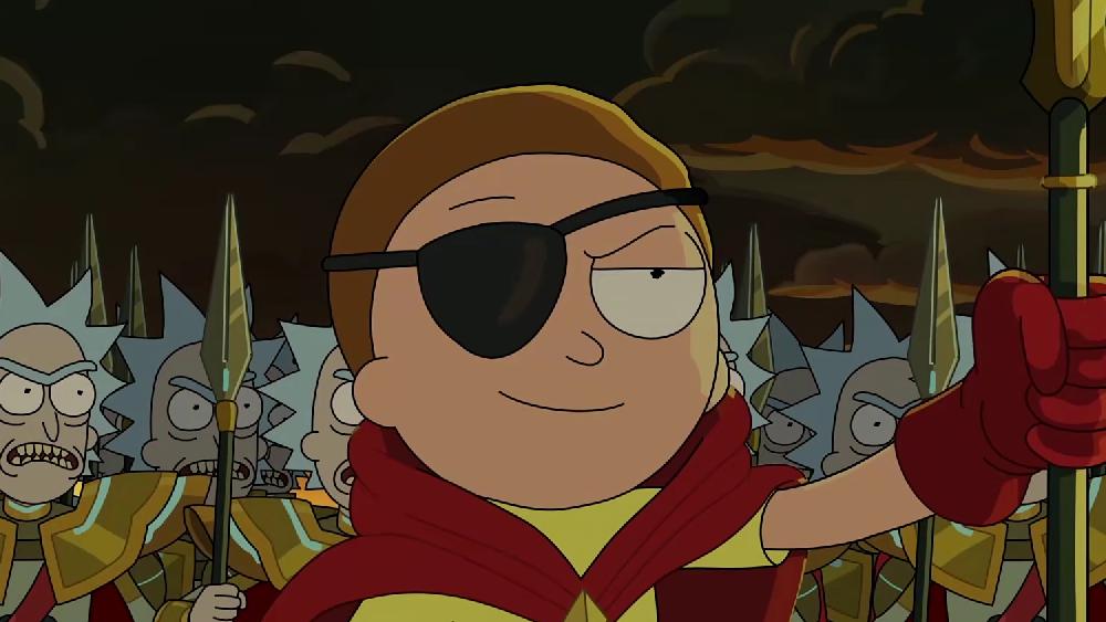 我是邪恶莫蒂,最瑞克的莫蒂