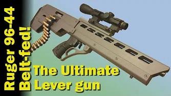 无托改造版 鲁格96-44杠杆步枪
