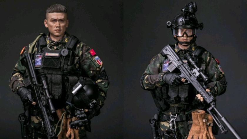 开封兵人八一特别节目:DAMTOYS 78048 中国人民解放军响箭特种部队 狙击手 精确射手