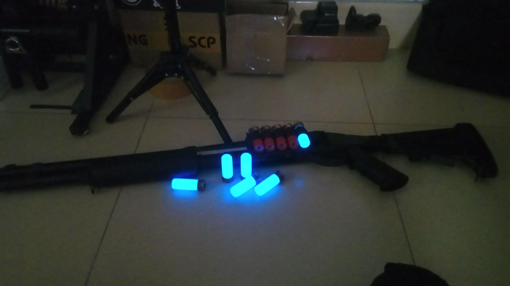 Essar.Ro:水弹枪akaR1的黑色替换件和AR转接