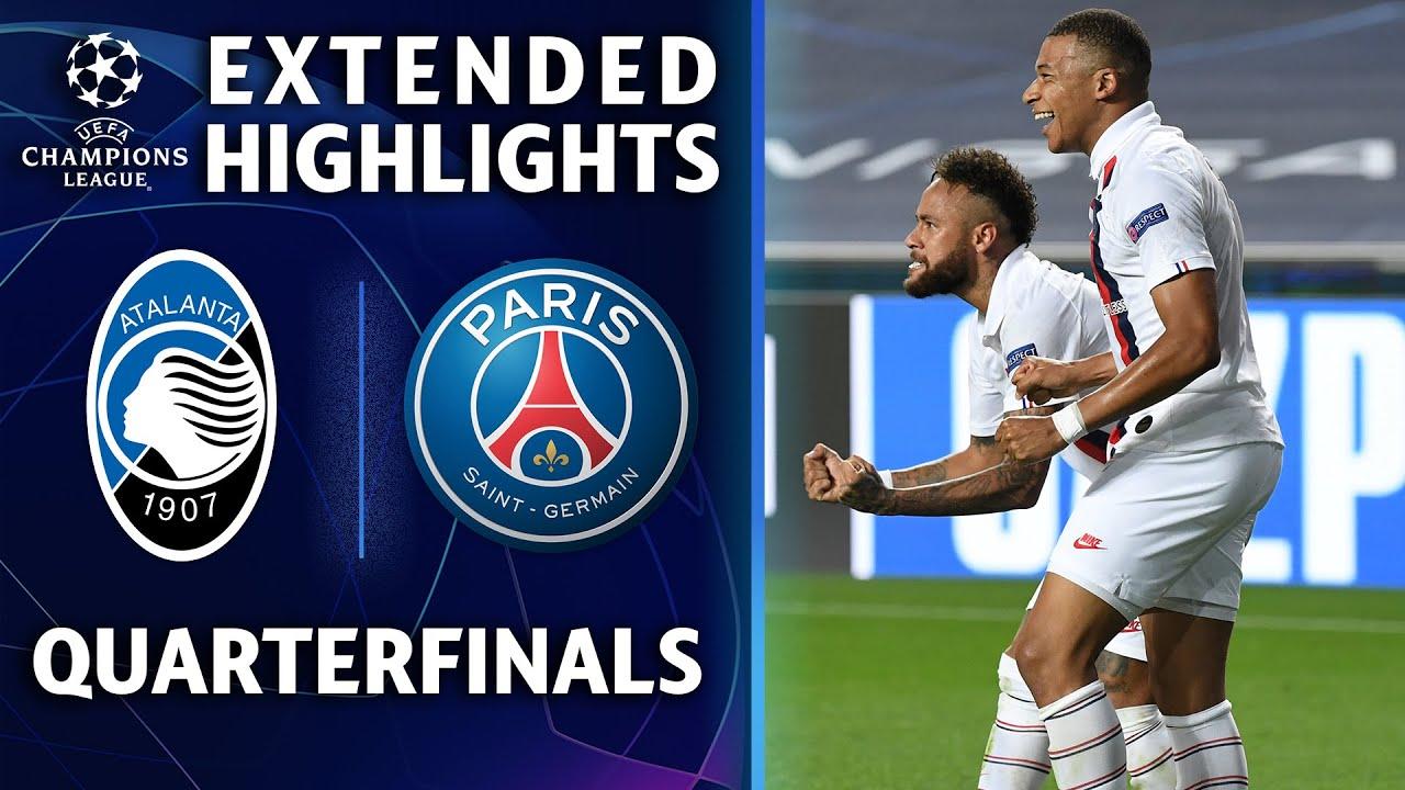 欧冠1/4决赛 巴黎2:1亚特兰大 补时绝杀你逆转晋级