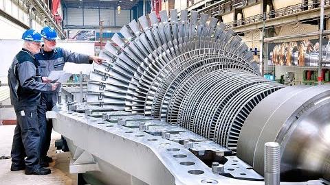 轴流压缩机和齿轮制造过程