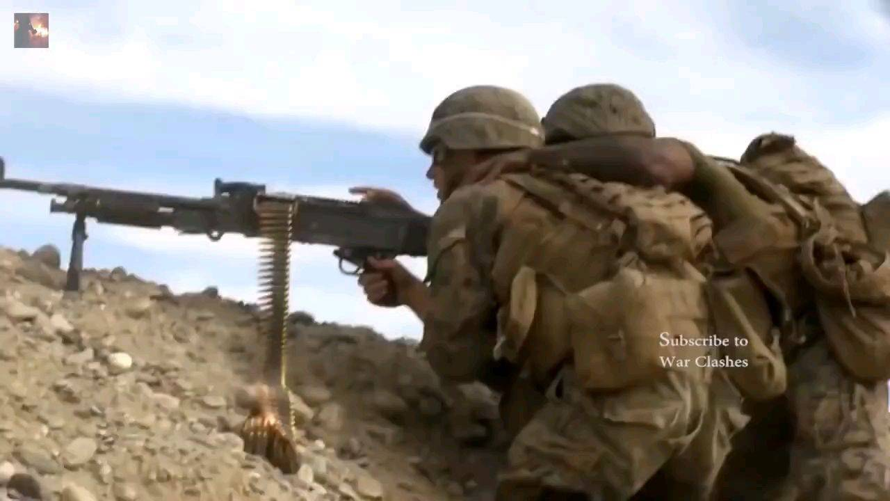 美军在阿富汗的幸福快乐生活