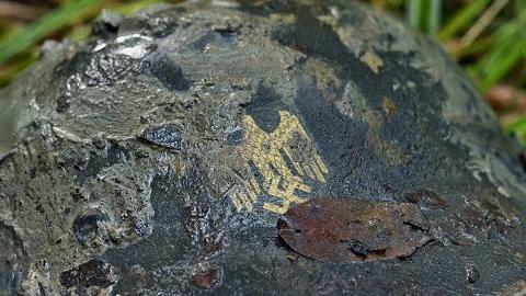 【挖土党】二战战场德国国防军士兵遗骸和武器