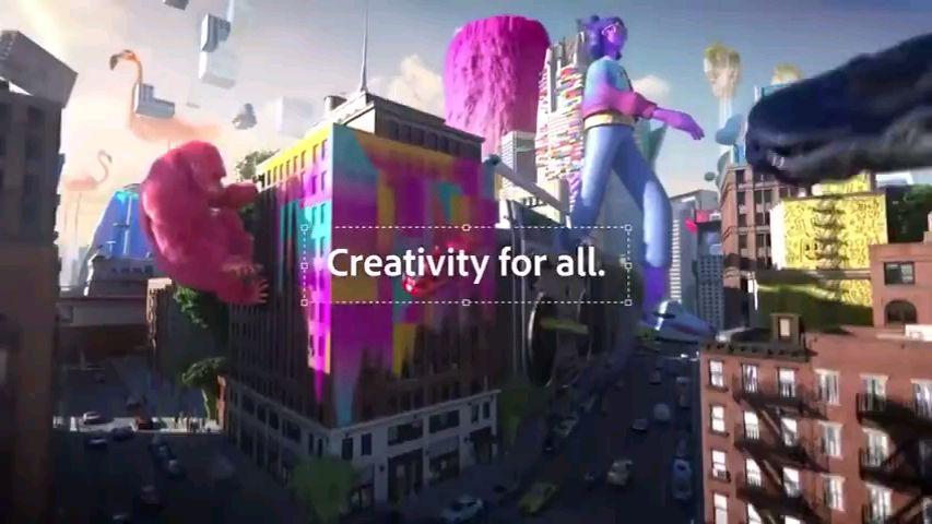 Adobe全家桶全新宣传片,教科书级的炫酷广告。