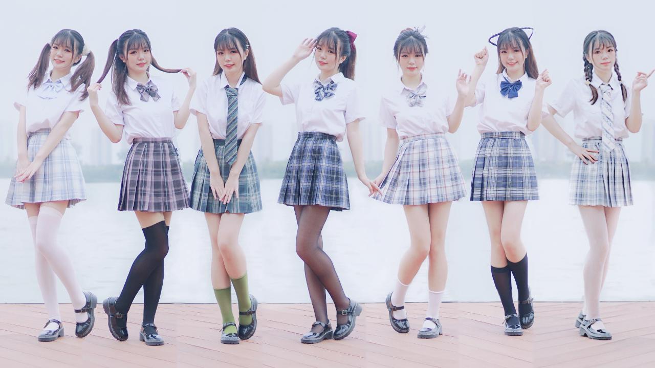 【十五天】七个jk女友一次满足!4k一键换装♡你的女友♡「三周年作」