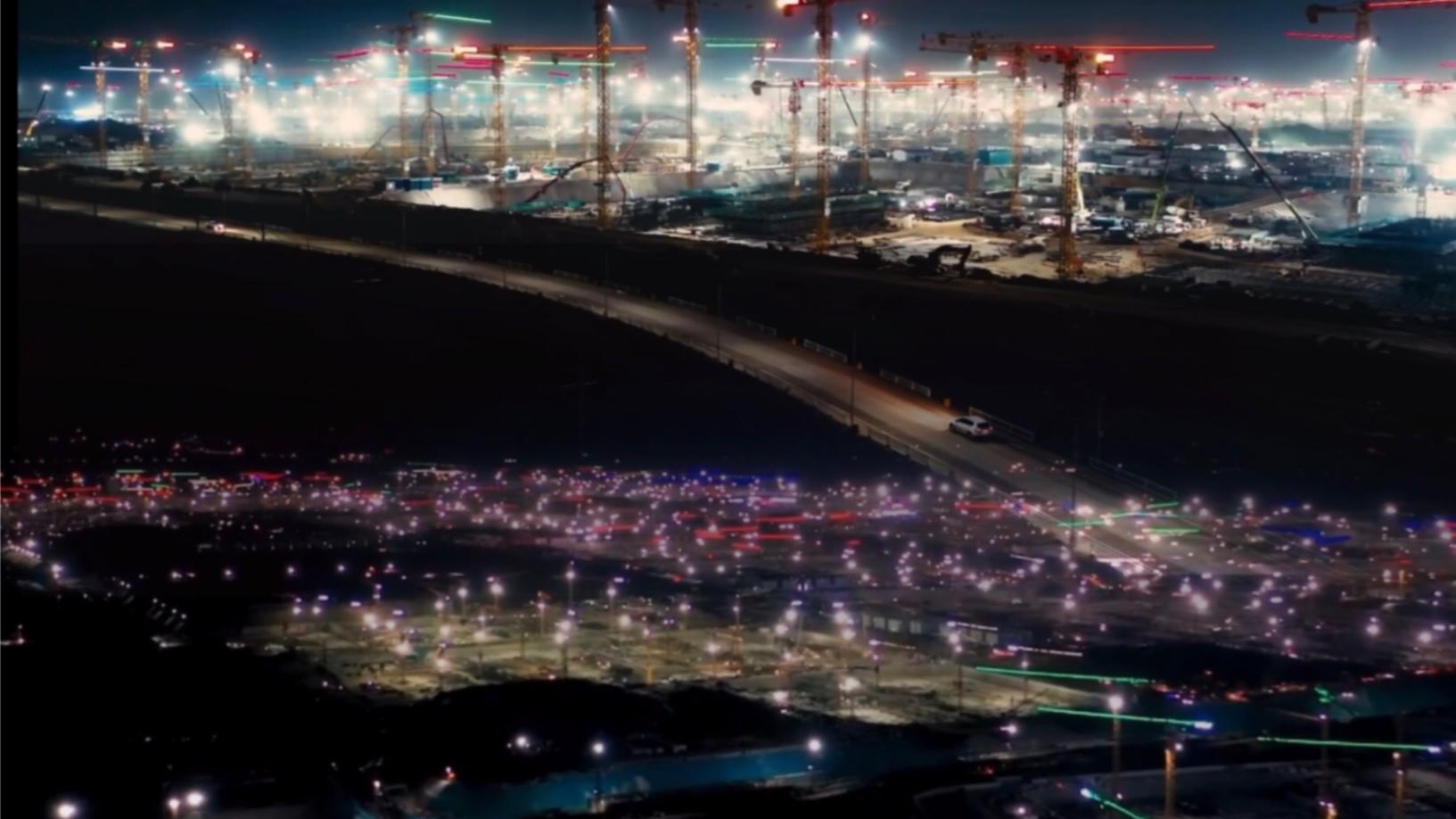 【再造一座北京城】雄安新区一望无际的吊田,似漫天流动的星河!