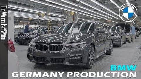 宝马5系-德国工厂生产线