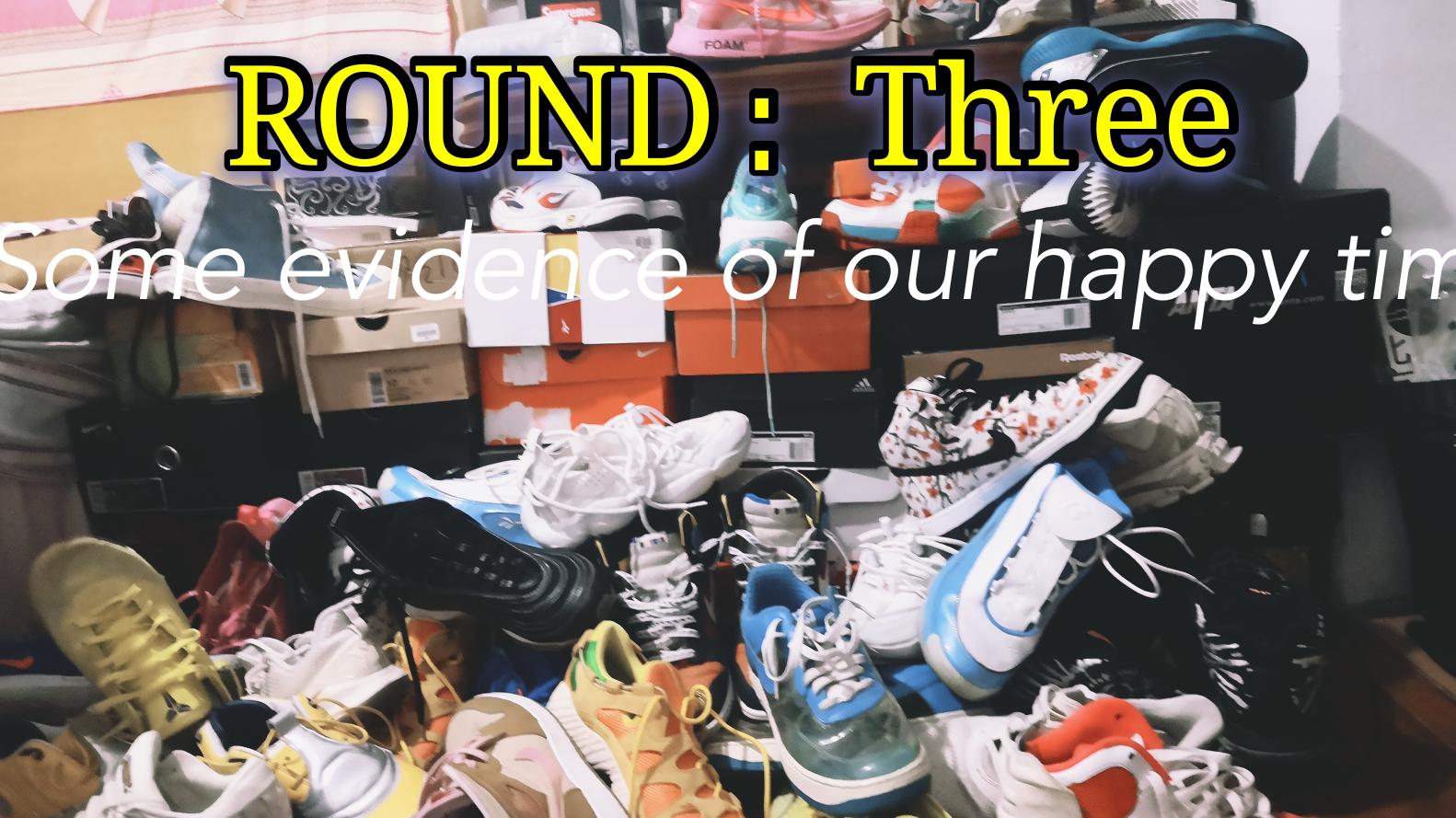 【超A新生计划】ROUND:Three球鞋的展示与介绍(福利)