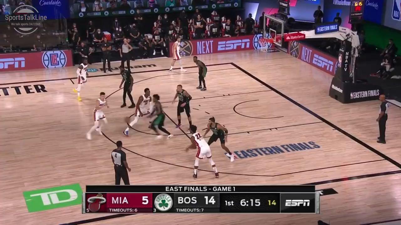 【全场集锦】NBA东部决赛第一场热火vs凯尔特人全场精彩集锦