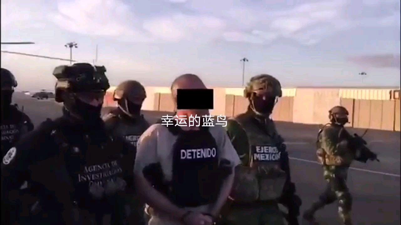 堪比大片的场面:墨西哥军方护送重要证人前往美国指控古兹曼