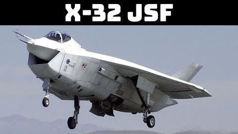 波音 X-32JSF 实验机