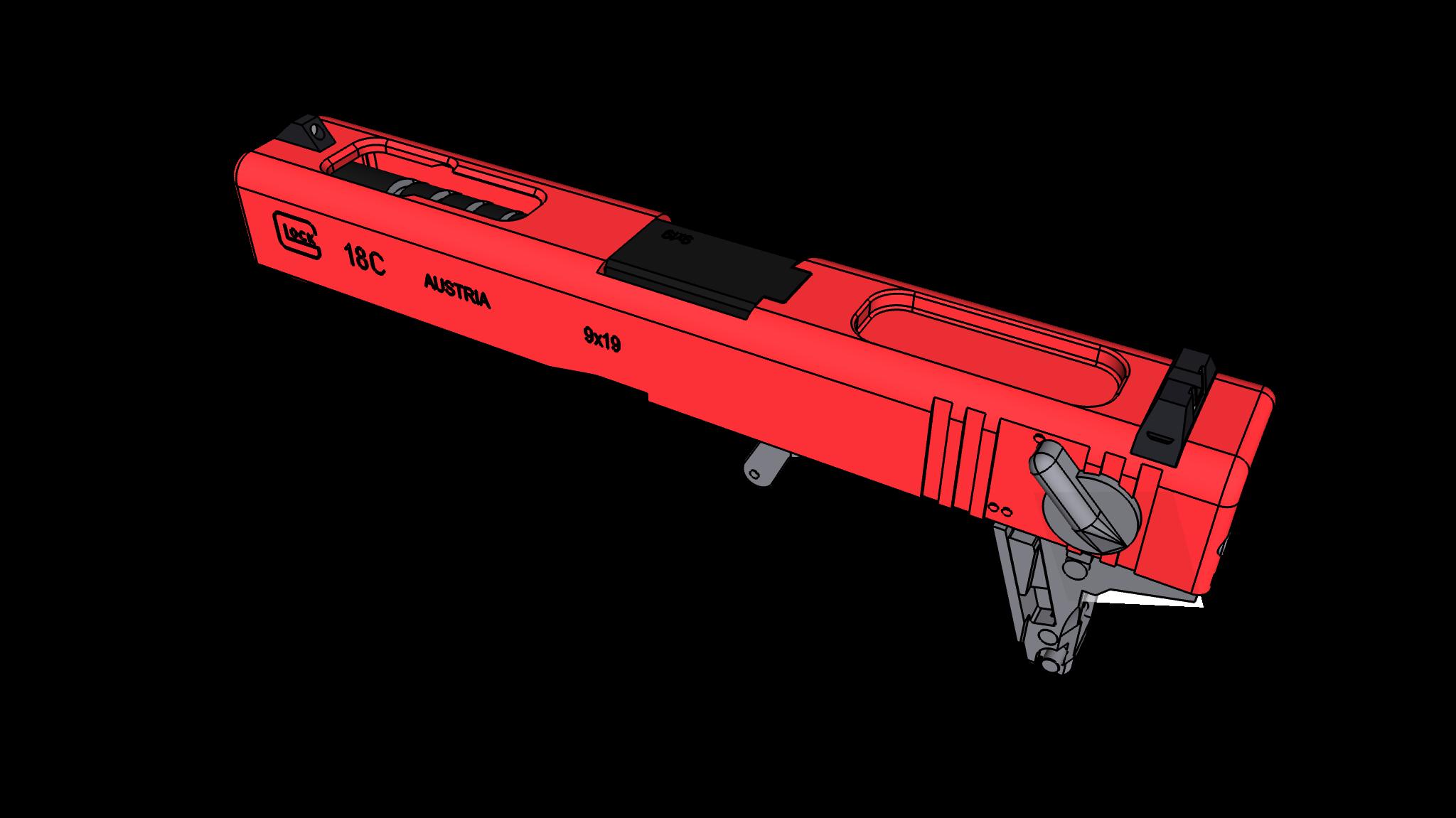射水鱼G18c 2.0 全自动水弹发射器套件