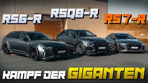 RS6-R vs. RS7-R vs. RSQ8-R |对比测试