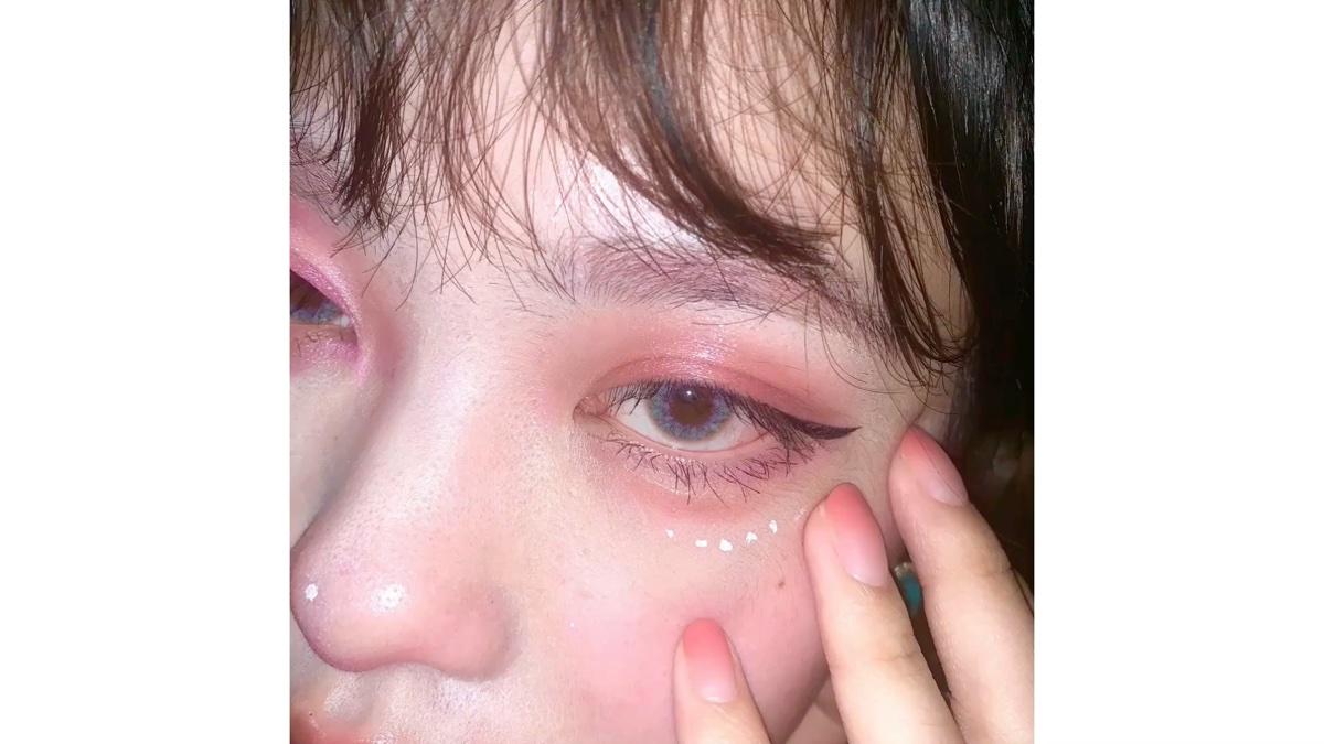 好看的眼睛+消除黑眼圈泪沟细纹鱼尾纹眼袋+防止眼部肌肤干燥起皮红肿ʕง•ᴥ•ʔง