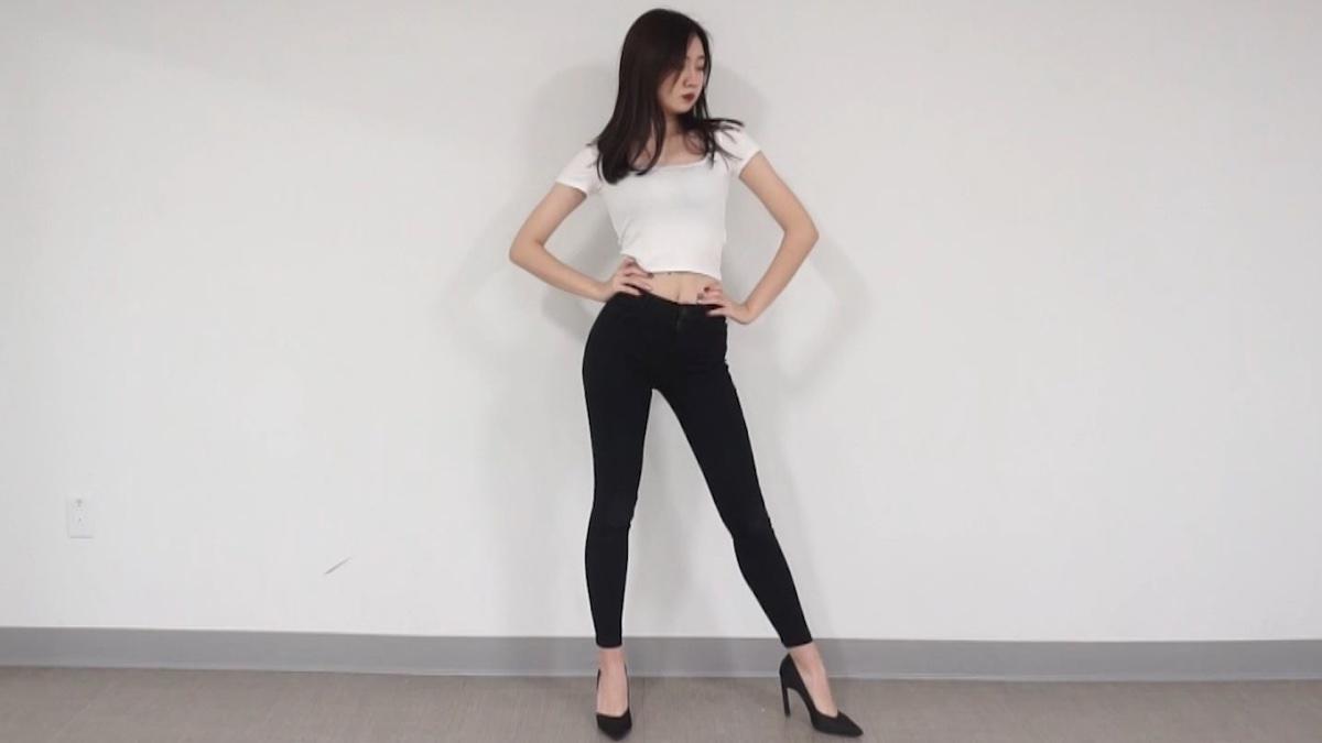 小姐姐跳韩舞