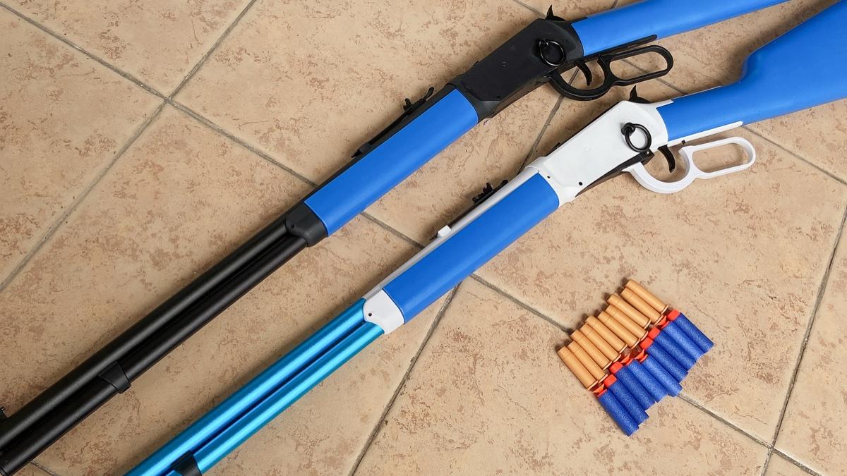 乖巧虎温彻斯特m1894软弹玩具