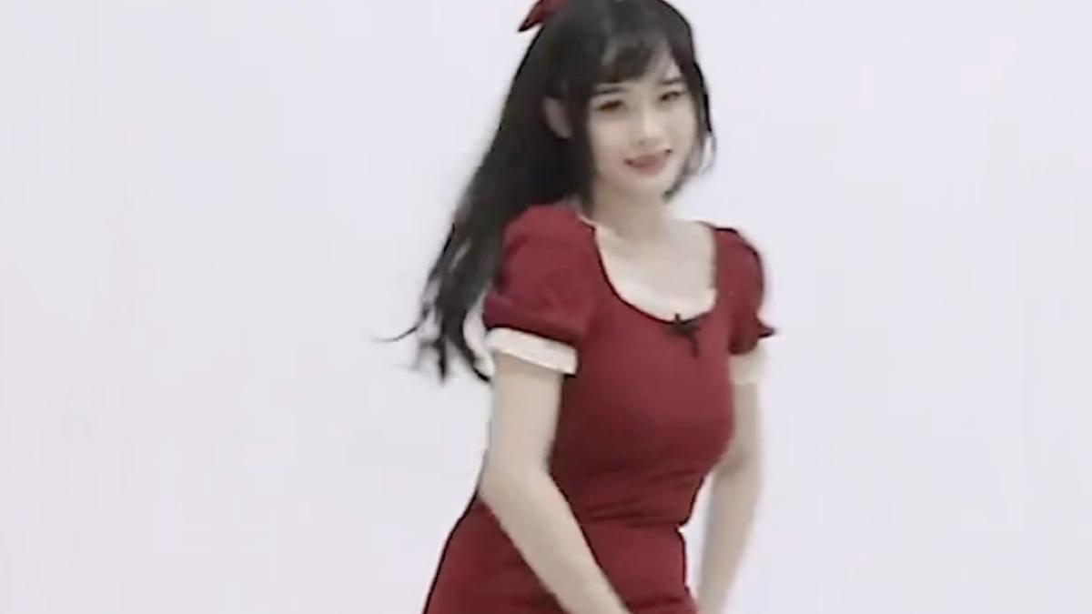 红裙高跟少女黑丝rollin竖屏