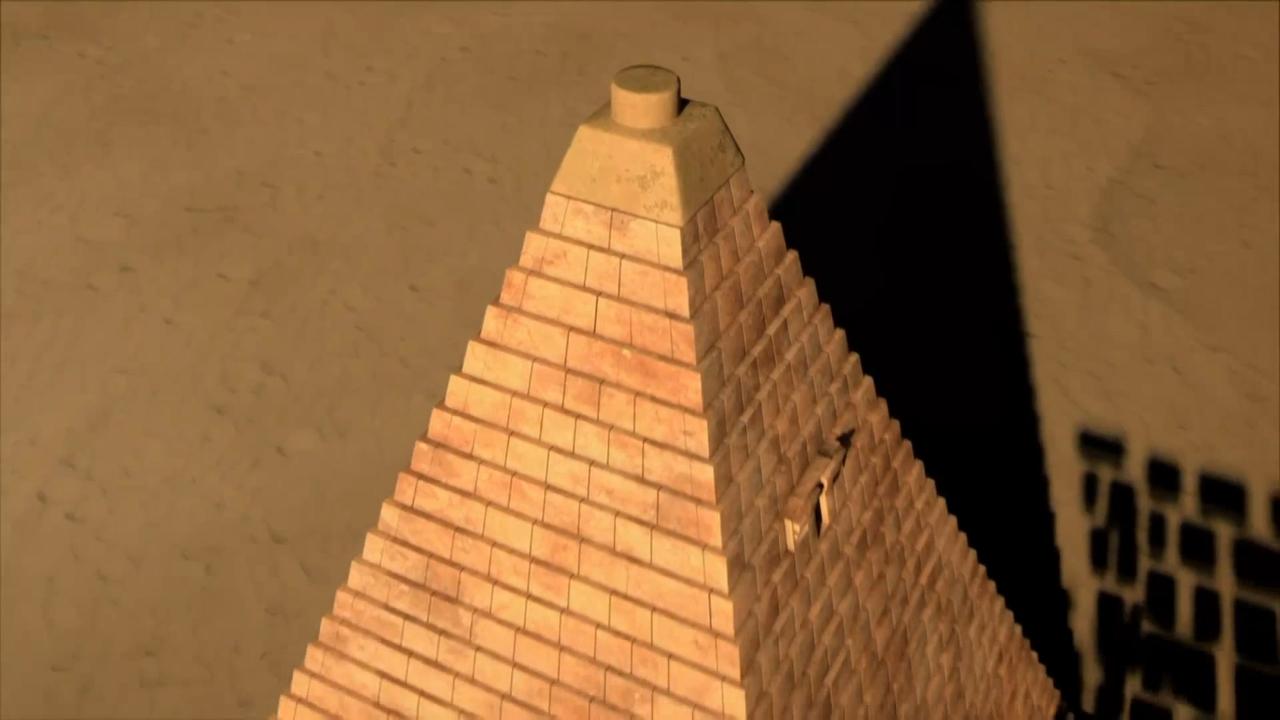 揭秘古人修建麦罗埃金字塔之法,库什王国打造了两百多个金字塔!
