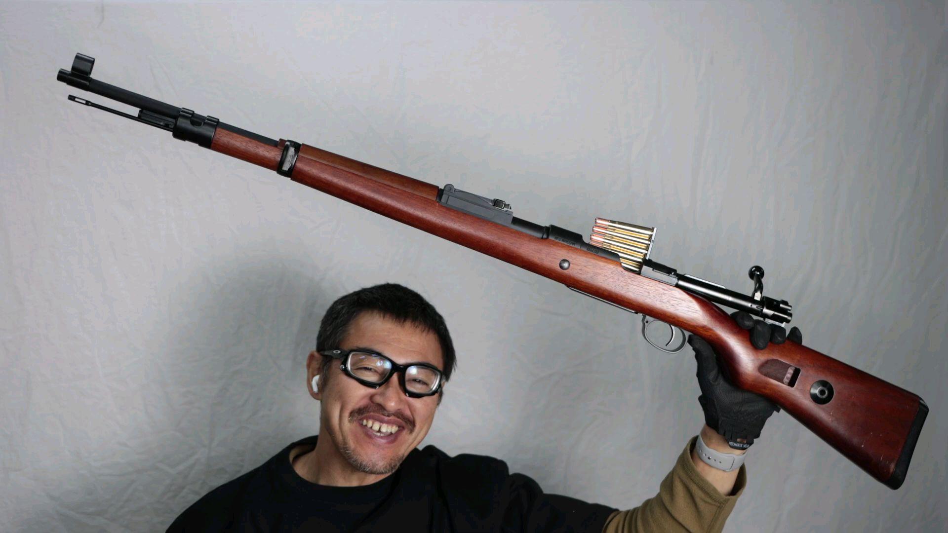 [日本壕界大叔]新年首测!Mauser 98K 胡桃木加强版测评