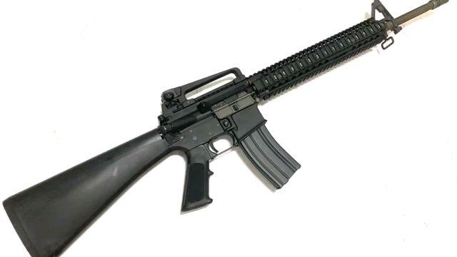 【Airsoft】WE M16A3 gbb玩具评测