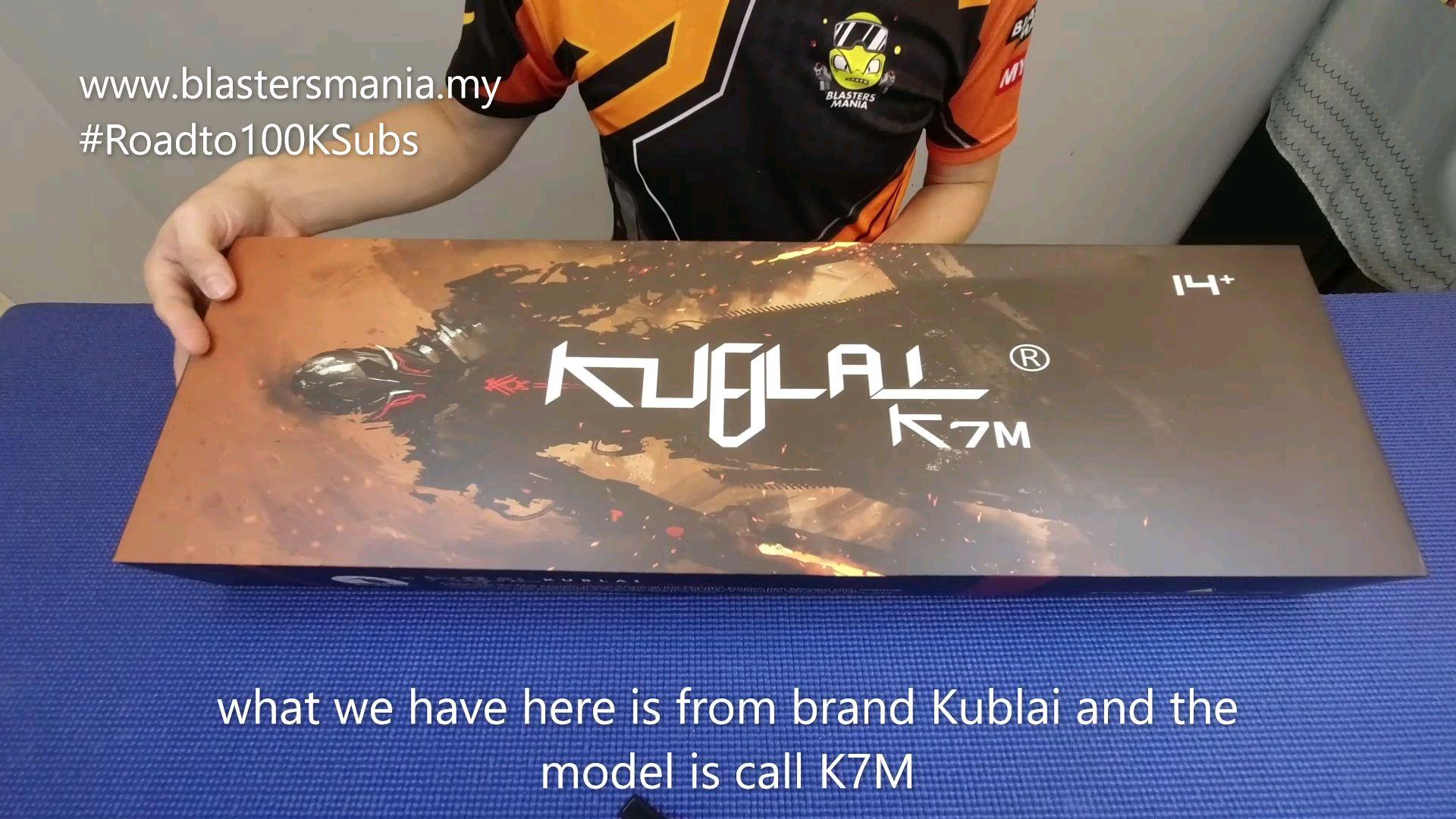 [马来小哥]开箱测评KUBLAL K7M