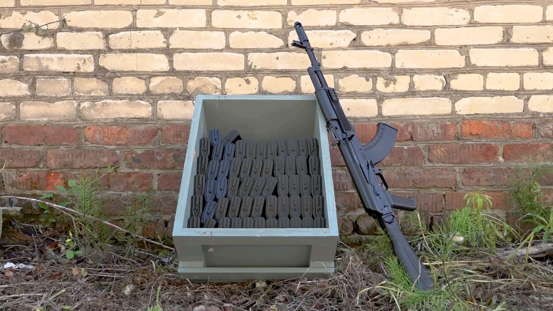 [油管搬运]如何报废一支AK-103
