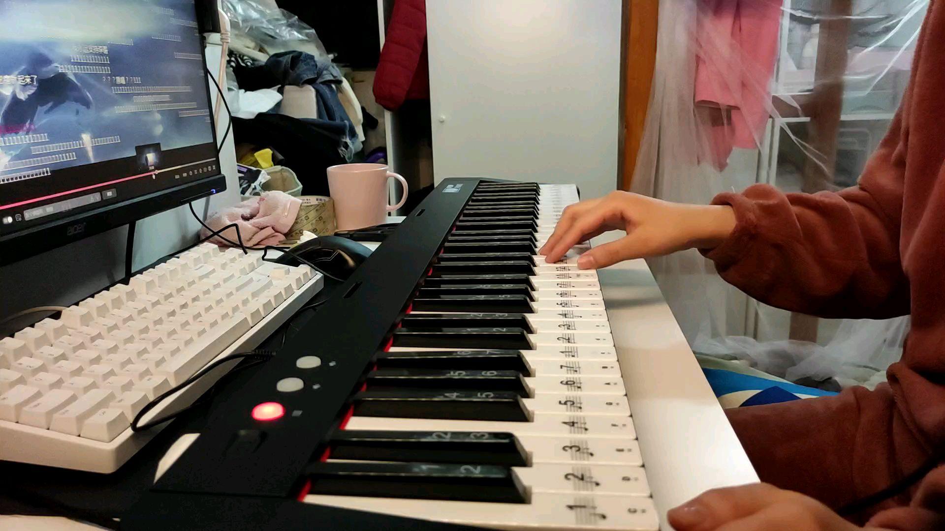 【legend never die】时隔18年以后的电子琴练习