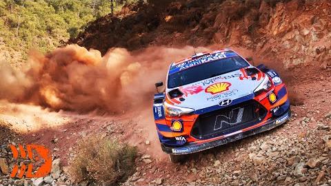 2020年WRC拉力赛碉堡合集