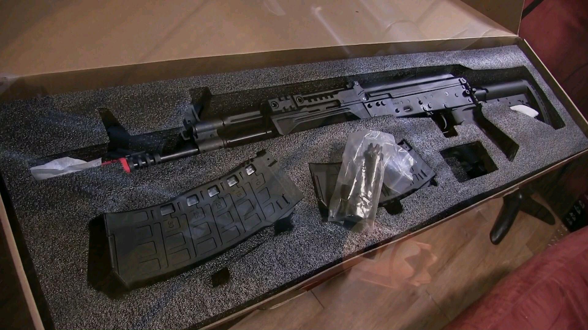 [油管搬运]开箱测评Arcturus AK12 ETU样品