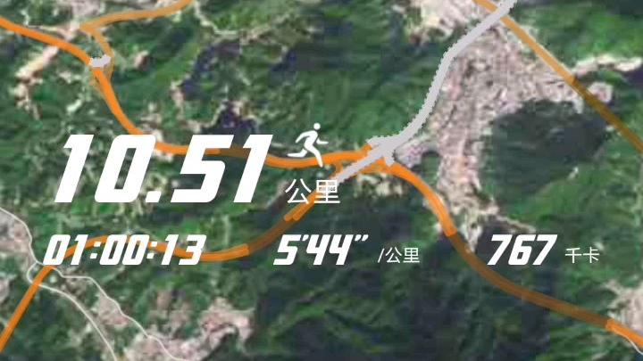 新年恢复训练(十公里)
