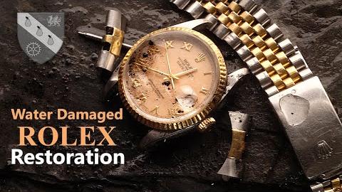 【手表修复】泡水劳力士手表修复