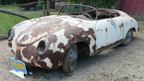 1955年保时捷356 Pre-A Speedster翻新修复