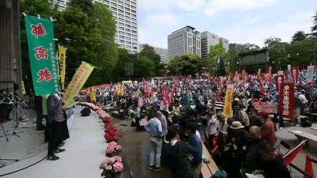 来自日本街头的高歌:《インターナショナル(国际歌)》