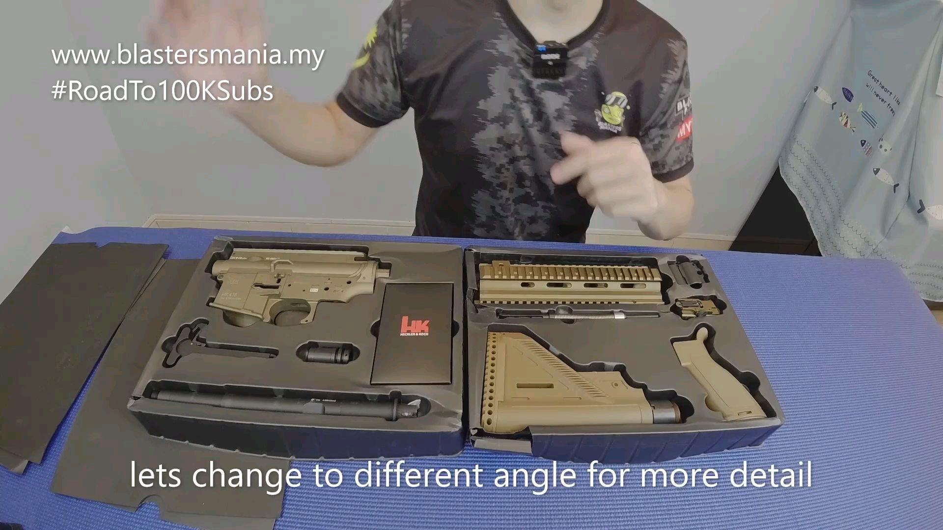 [马来小哥]LDT开箱HK416 A5套件