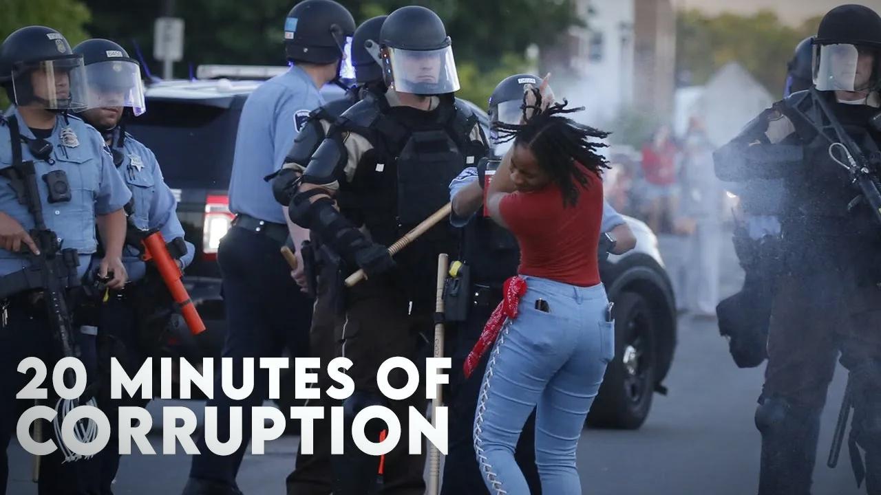 2020美国警察暴力执法集锦