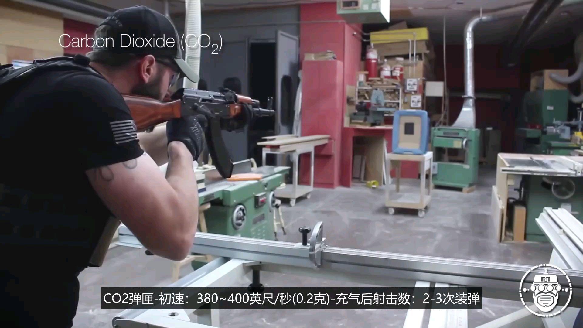 【中字】【Robo Airsoft】GHK AKM 气动回膛发射器测(废话)评(连篇)