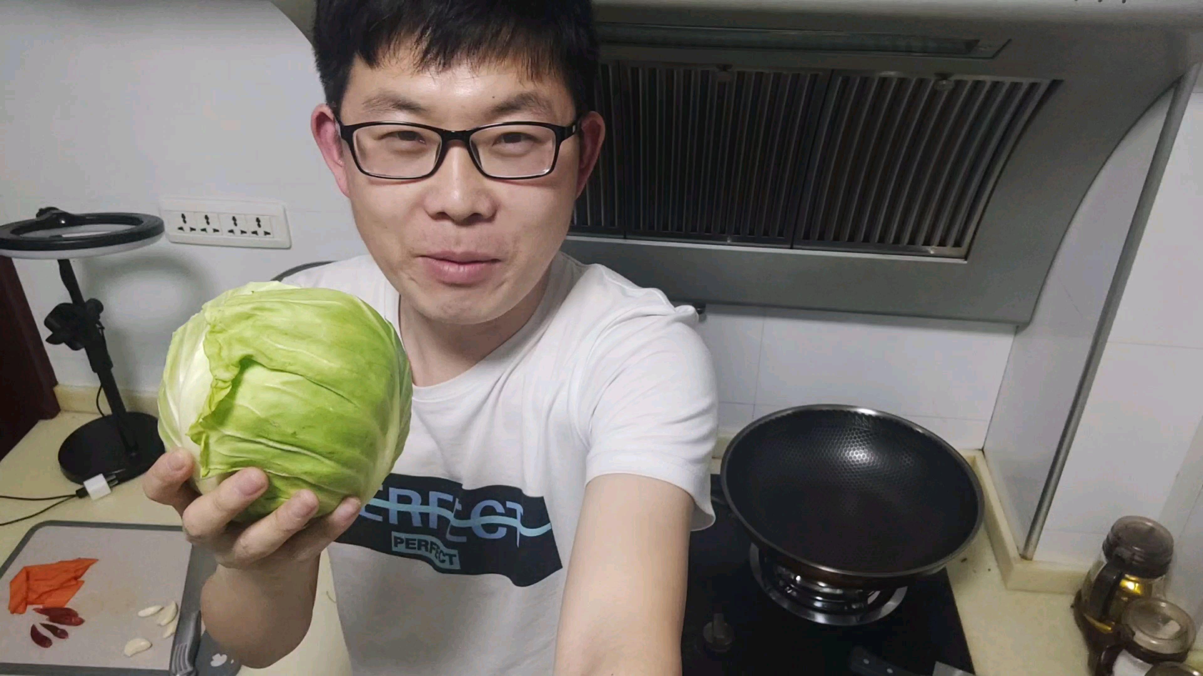 炝炒牛心菜