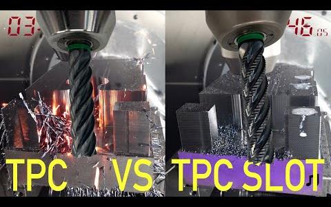 CNC刀具銑削速度对比