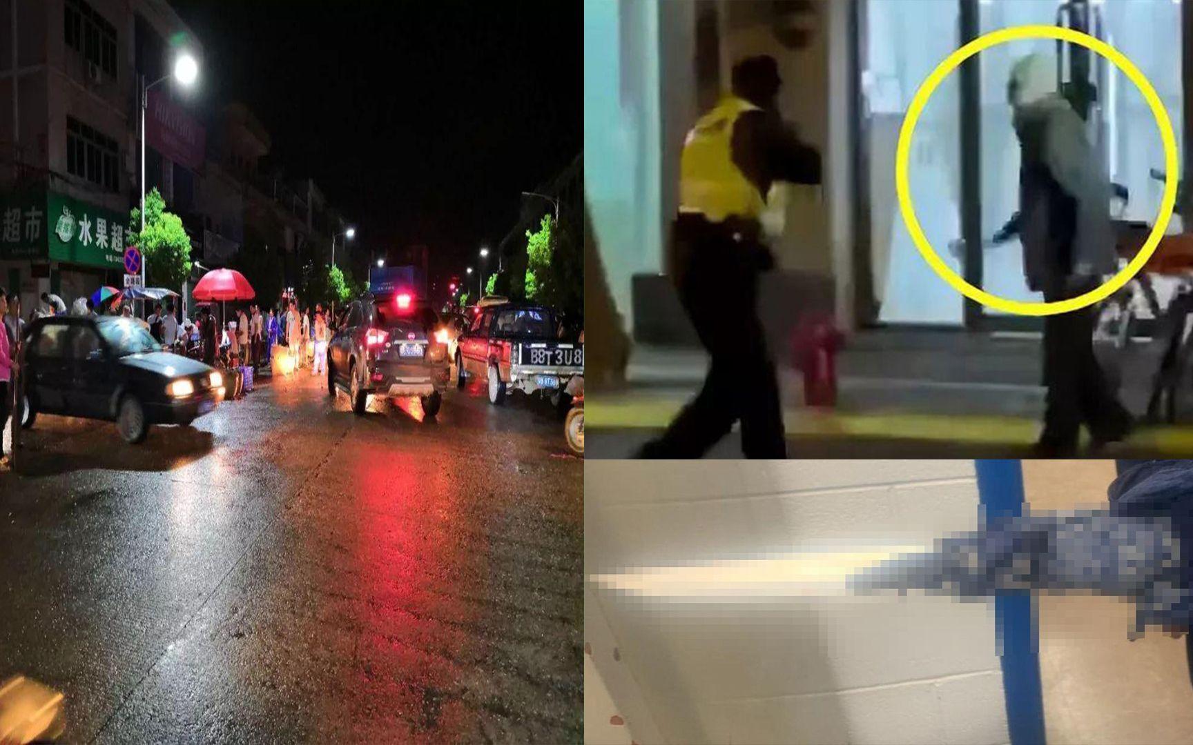 男子酒驾怒闯红灯,狂甩饮料杯后持刀下车当街追砍!