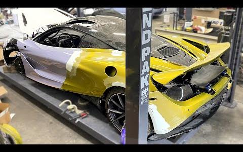 【事故车修复】迈凯伦720s|第十七集