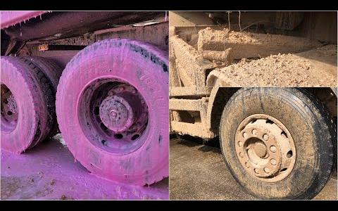 【舒服】洗车-满满泥垢的泥头车